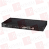 BLACK BOX CORP LPBG716A ( GIGABIT POE WEB SMART SWITCH - 16-PORT ) -- View Larger Image