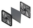 electronic cooling fan guard assembly