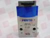 FESTO ELECTRIC SVS-3-1/8 ( FRONT PANEL VALVE,3/8 BAR,50/116PSI ) -Image
