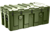 Pelican AL4824-1604 Single Lid Trunk Shipping Case - No Foam - Olive Drab -- PEL-AL4824-1604-RP-137 -Image