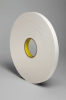 3M 4108 White Single Sided Foam Tape - 3/4 in Width x 36 yd Length - 1/8 in Thick - 03407 -- 021200-03407 -- View Larger Image