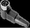 Right Angle Plug Standard Circular DIN Connectors -- SDR-30 - Image