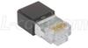 Modular Plug, RJ45(8x8) Category 5/5E Shielded, Rear Housing, Pkg -- TSP3788C5S