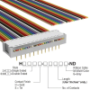 Rectangular Cable Assemblies -- H2PXH-2436M-ND -- View Larger Image