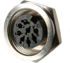 Locking Receptacle Standard Circular DIN Connectors -- SD-30LS - Image