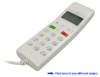 VoIP USB Handheld Phone (White) -- VOIP122