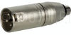TecNec XLM-PF XLR Male To RCA Female Adapter -- XLM-PF