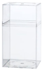 Clear Plastic Boxes with Lids -- 55408 - Image