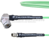 Low Loss SMA Male to RA TNC Male Cable LL160 Coax in 24 Inch and RoHS -- FMCA1699-24 -Image
