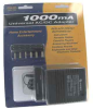 1000mA CSA UL AC Adapter with Detach Plugs Universal AC-DC Converter -- 900-102 - Image