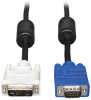 DVI to VGA Monitor Cable, High Resolution Cable with RGB Coax (DVI-A to HD15 M/M), 6-ft. -- P556-006 - Image