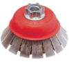 High Performance Cable Crimped Cup Brushes