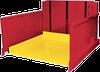 Ground Entry, Level Loader Lift Table -- PalletPal Roll-On Level Loader Series