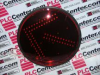 DIALIGHT 430-1315-001 ( TRAFFIC LIGHT MODULE 12INCH RED ARROW LED 120VAC ) -Image