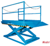 2000 Series Recessed Dock Lifts -- 2400
