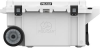 Pelican 80 Qt Elite Cooler with Wheels - White | SPECIAL PRICE IN CART -- PEL-80QW-1-WHT -Image
