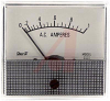 Ammeter, Electromechanical AC; 1 A; + 5%; 2.5 in.; Polystyrene; 850 Series -- 70136714