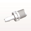 Straight Connector, Barbed, White -- N4S530 -- View Larger Image