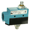 MICRO SWITCH E6/V6 Series Medium-Duty Limit Switches, Top Plunger Actuator, 1NC 1NO SPDT Maintained, 0.5 in - 14NPT conduit -- BZE6-RQX2 -Image