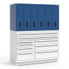 R2V Vertical Drawer Cabinet -- RL-5HKE38004NA -Image