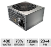 Cooler Master Elite Series Power Supply - 400 Watts, ATX -- RS400-PSARJ3-US - Image
