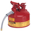 1 Gallon Type II Steel Flammable Liquid Safety Can w/ Hose -- CAN10327