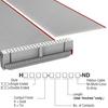 Rectangular Cable Assemblies -- H1DXS-4036G-ND -Image