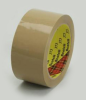 3M Scotch 373 Box Sealing Tape Tan 48 mm x 50 m Roll -- 373 48MM X 50M TAN -Image