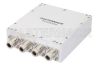 4 Way Broadband Combiner from 20 MHz to 1 GHz Type N -- PE20S0003 -Image
