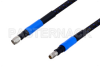 1.85mm Male to 1.85mm Female Precision Cable 24 Inch Length Using High Flex VNA Test Coax -- PE3TC0900-24 -Image