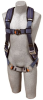 ExoFit XP Vest Harness w/ Back Ring & Quick-Connect Buckles -- CAPSAF-111010