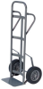 Akro-Mils 500 lb Gray Powder Coated 13 ga General Purpose Hand Truck - Flow Back Handle - 19 3/4 in Width - 8 in Plate Width - 45 in Height - 8 in Mold-on Rubber wheels - R4008MR -- R4008MR