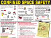 Brady Confined Space Sign - CSP -- 754476-50344