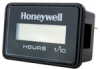 Honeywell 98000 Series Volt/Hour Meter with 6 mm Display, Rectangular Face with Retainer Mounting, Honeywell on Face, Three 1/4 inch Male Blade Terminals, 0 to 99,999.9 hours, 12 Vdc -- 98101
