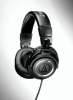Professional Studio Monitor Headphones (with coiled cable) -- ATH-M50