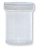 Specimen container with white cap, 300 pcs/case -- 99981