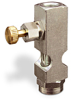 "(Formerly B1631-1X00), Straight Small Sight Feed Valve, 1/8"" Female NPT Inlet, 1/8"" Female NPT Outlet, Handwheel -- B1628-411B1HW -Image"