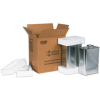 2 - 1 Gallon F-Style Shipper Kit -- HAZ1121