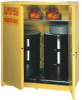 55 Gallon 1 Drum Vertical Self Closing Cabinet, 31 1/4