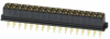 17+17 Pos. Female DIL Vertical Throughboard Conn. for Latches -- M80-8503445 - Image