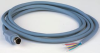 SPC TECHNOLOGY - SPC12043 - DIN AUDIO/VIDEO CABLE, 6FT, 26AWG, GRAY -- 583794