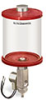 Red Color Key, Clear View Full Flow Electro Dispenser, 1 qt Pyrex Reservoir, 24VDC -- B5164-032PB024DRW -- View Larger Image