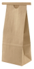 1/2 lb Paper Bag with Tin Tie - Kraft (Glassine Lined) -- PBY8.1-KRAFTG