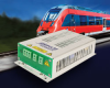 750Vdc Input, 50W Rugged, DC/DC Converter for Railway and Other Heavy-duty Applications -- HVI 41R-F1 -Image