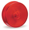Clearance/Marker Lamp,Lens Optic,Red -- 45812
