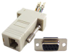 9 Pin Female RJ45 D-Sub Modular Adapter -- 85-219