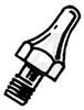 Tiplet; 0.5 in. L x 0.125 in. W x 0.073in. H; Desoldering tool -- 70220643