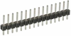 10 Pos. Male SIL Vertical Throughboard Conn. -- M20-9771042 - Image