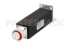 20 Watt RF Load Up to 2.7 GHz with 7/16 DIN Male Black Anodized Aluminum -- PE6TR1021 -Image