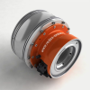 Spindle Drive 2 Speed Gearbox - In-line Design -- RAM-KIT - Image